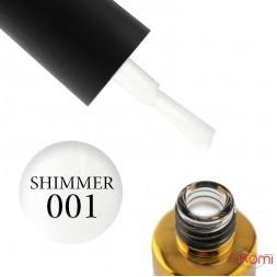 База камуфлююча каучукова для гель-лаку F.O.X Cover Base Shimmer 001, 14 мл