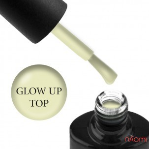 Топ люминесцентный для гель-лака без липкого слоя NUB Glow Up Top Coat, 8 мл