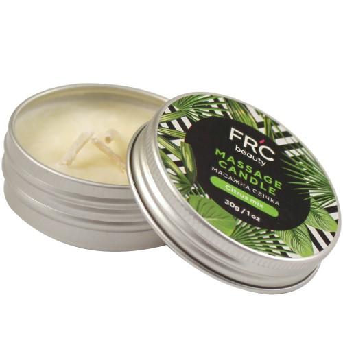 Массажная свеча FRC Beauty Massage Candle Citrus Mix, цитрусовый микс, 30 г, фото 1, 69.00 грн.