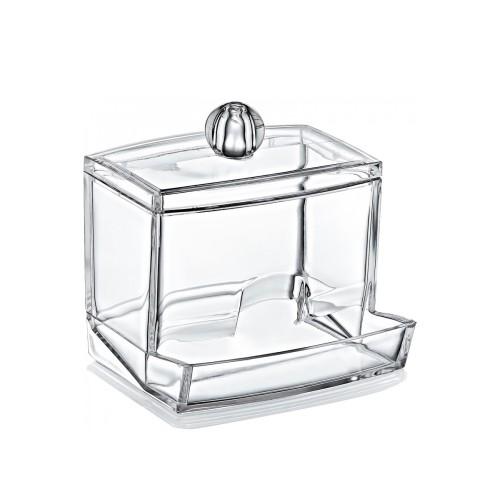 Органайзер для ватных палочек BoxUp FT-004, пластик, 8,8x10,5x6,5 см, фото 1, 65.00 грн.