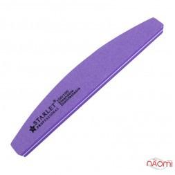 Шлифовщик для ногтей Starlet Professional 100/100, полукруг, цвет в ассортименте