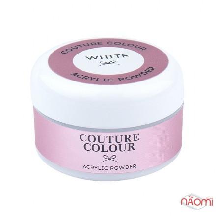Акриловая пудра Couture Colour Acrylic White Powder, цвет белый, 30 г, фото 1, 200.00 грн.