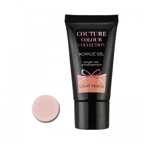 Акрил-гель Couture Colour Acrylic Gel Light Peach, светлый персиковый, 30 мл, фото 1, 430.00 грн.