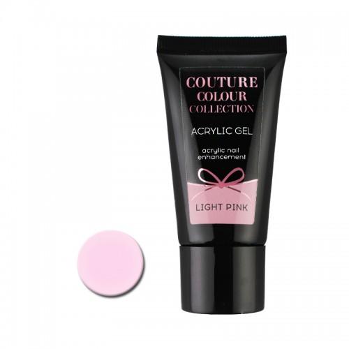 Акрил-гель Couture Colour Acrylic Gel Light Pink, бледно-розовый, 30 мл, фото 1, 430.00 грн.