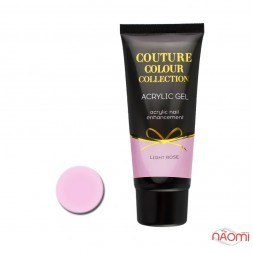 Акрил-гель Couture Colour Acrylic Gel Light Rose, 60 мл