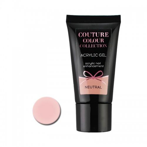 Акрил-гель Couture Colour Acrylic Gel Neutral, нейтрально-телесный, 30 мл, фото 1, 430.00 грн.