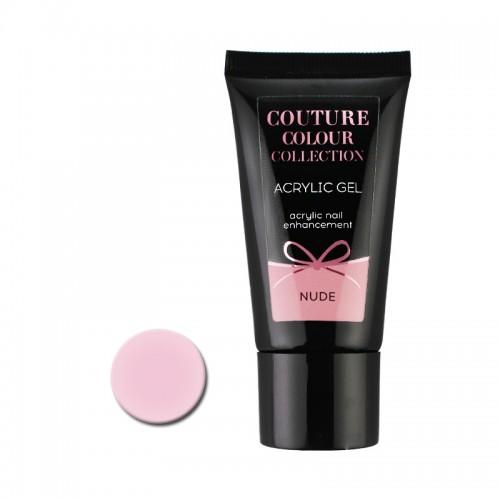 Акрил-гель Couture Colour Acrylic Gel Nude, холодный розовый нюд, 30 мл, фото 1, 430.00 грн.