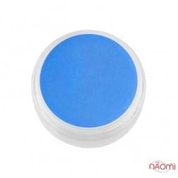 Акрилова пудра F.O.X 002 синій, 3 мл