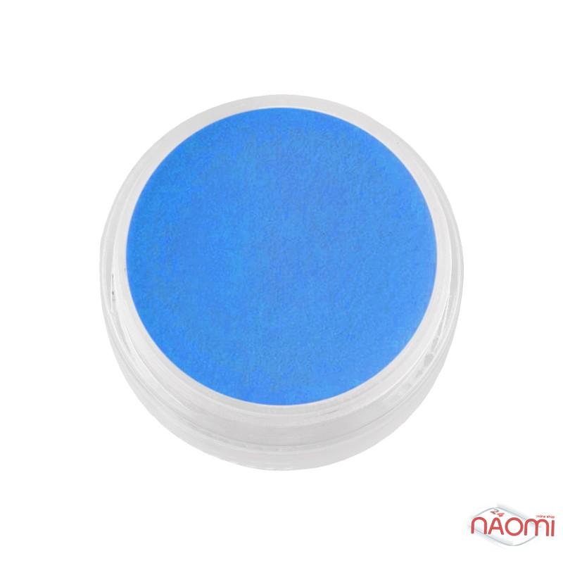 Акрилова пудра F.O.X 002 синій, 3 мл, фото 1, 30.00 грн.