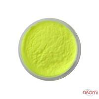 Акрилова пудра My Nail № 025, колір лимонний  2 г