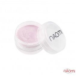 Акриловая пудра Naomi № 008, цвет пудрово-розовый, 3 г