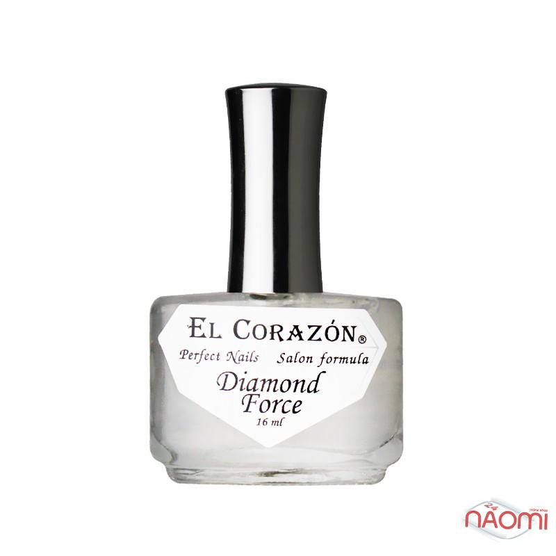 Алмазный укрепитель ногтей EL Corazon Diamond Force № 426 с нано-частицами, 16 мл, фото 1, 89.00 грн.