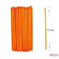 Апельсиновые палочки, 50 шт/ уп. 17,5 см, цвет оранжевый
