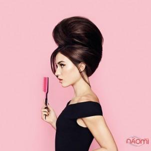 Расческа Tangle Teezer Back Combing мега обьем, цвет черно-розовый
