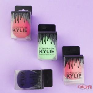 Спонж для макіяжу Powder Puff Kylie, 5,5х4 см, колір зелений