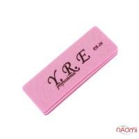 Баф-шлифовщик для ногтей YRE PA 26, 100/180, цвет розовый