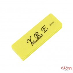 Баф-шлифовщик для ногтей YRE PA 26, 100/180, цвет желтый
