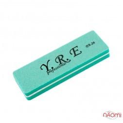 Баф-шлифовщик для ногтей YRE PA 26, 100/180, цвет мятный