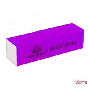 Бафик Global Fashion 80/100/120/180 кислотный, цвет в ассортименте