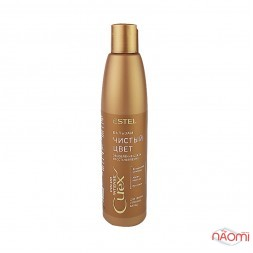 Бальзам для теплых оттенков блонд Estel Curex Color Intense обновление цвета, 250 мл