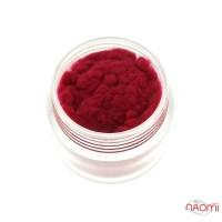 Бархатная пудра, цвет бордовый