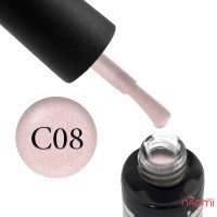 База камуфлирующая для гель-лака Oxxi Professional Cover Base Coat № 8, с шиммером, 10 мл