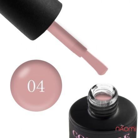 База камуфлирующая каучуковая для гель-лака Couture Colour Cover Rubber Base Coat № 4, 9 мл , фото 1, 160.00 грн.
