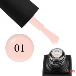 База камуфлирующая каучуковая для геля и гель-лака GO Active Gummy Base Coat №01, Warm Nude, 10 мл
