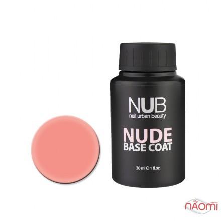 База камуфлирующая каучуковая для гель-лака NUB Nude Base Coat №01, 30 мл, фото 1, 355.00 грн.