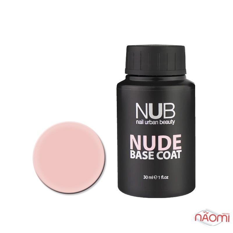 База камуфлирующая каучуковая для гель-лака NUB Nude Base Coat №02, 30 мл, фото 1, 355.00 грн.