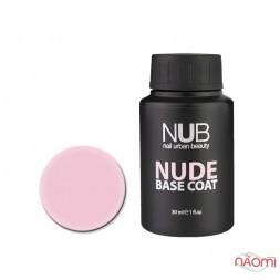 База камуфлирующая каучуковая для гель-лака NUB Nude Base Coat №06, 30 мл