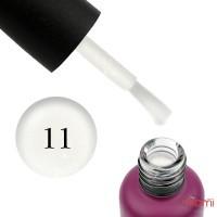 База каучуковая для гель-лака Edlen Professional French Base 11 Milk Shimmer, 9 мл