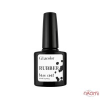 База каучукова для гель-лаку G. La color Rubber Base Coat, 10 мл