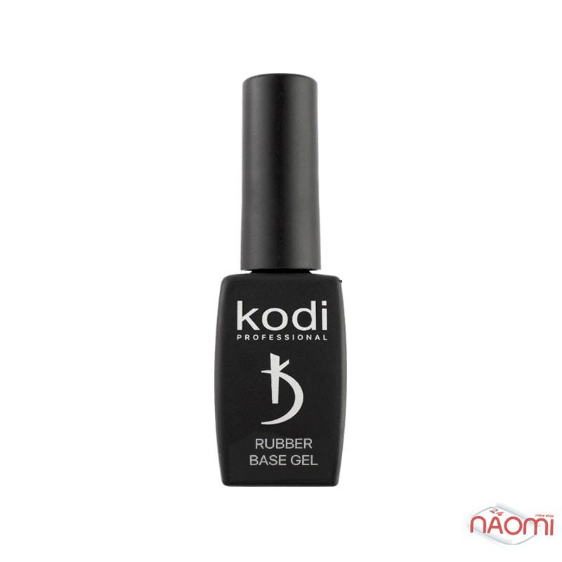 База каучуковая для гель-лака Kodi Professional Rubber Base Gel Black, цвет черный, 8 мл, фото 2, 135.00 грн.