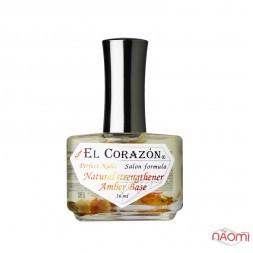 База выравнивающая для лака EL Corazon № 436 с янтарной кислотой, 16 мл