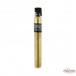 Блестки Salon Professional, размер 004 004 цвет золото,  в пробирке