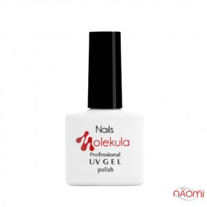 Гель-лак Nails Molekula 010 темный сливовый, 11 мл