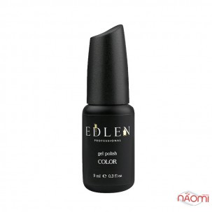 Гель-лак Edlen Professional 104 фиолетовая фуксия с шиммерами и перламутром, 9 мл
