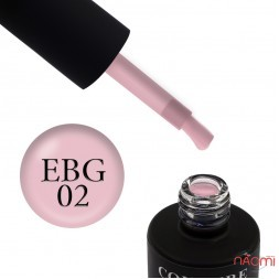Быстрый билдер-гель Couture Colour Easy Builder Gel EBG 02, нежный телесно-розовый, 15 мл