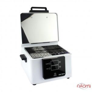 Сухожаровый стерилизатор SM-360C White, с дисплеем, цвет белый