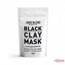 Маска для лица на основе черной глины Joko Blend Black Clay Mask, 150 г