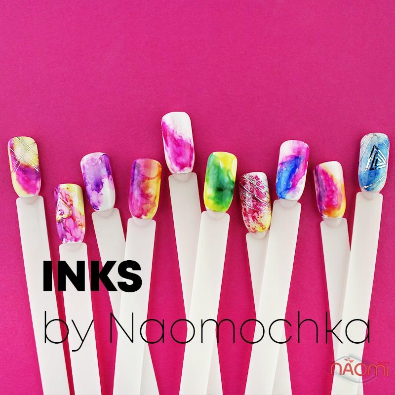 Набор чернил Inks by Naomochka, 6 цветов, 4 мл, фото 1, 299.00 грн.