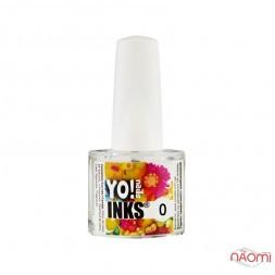 Чернила Yo nails Inks 0, цвет прозрачный, 5 мл