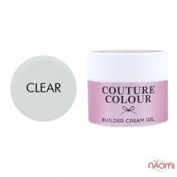 Крем-гель строительный Couture Colour Builder Cream Gel Clear, прозрачный, 15 мл