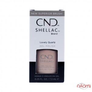 CND Shellac Crystal Alchemy Lovely Quartz розово-бежевый кварц, 7,3 мл