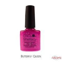 CND Shellac Butterfly Queen малиновий з шимерами, 7,3 мл