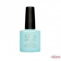 CND Shellac Chic Shock Taffy голубой, 7,3 мл