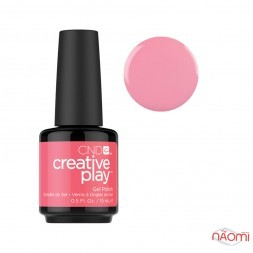 Гель-лак CND Creative Play 404 Oh Flamingo рожевий, 15 мл