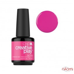 Гель-лак CND Creative Play 409 Berry Shocking рожевий, 15 мл