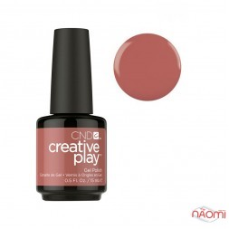 Гель-лак CND Creative Play 418 Nuttin To Wear коричневий, 15 мл
